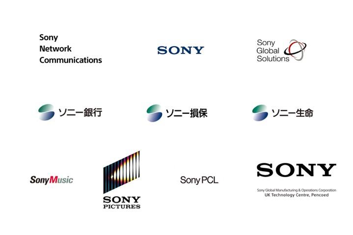 ソニーグループのロゴ