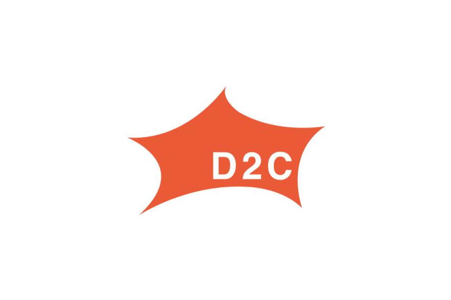 D2Cのロゴ