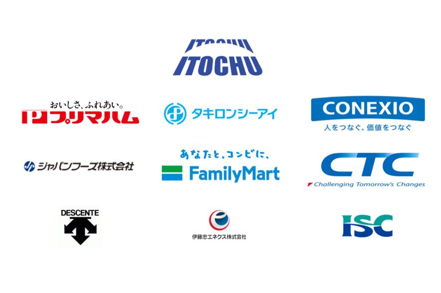 伊藤忠グループのロゴ
