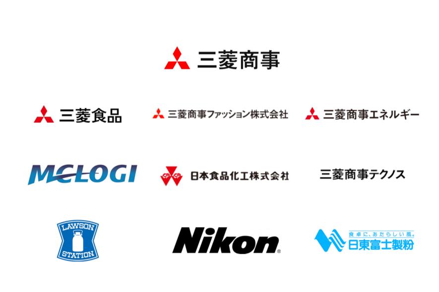 三菱商事グループのロゴ
