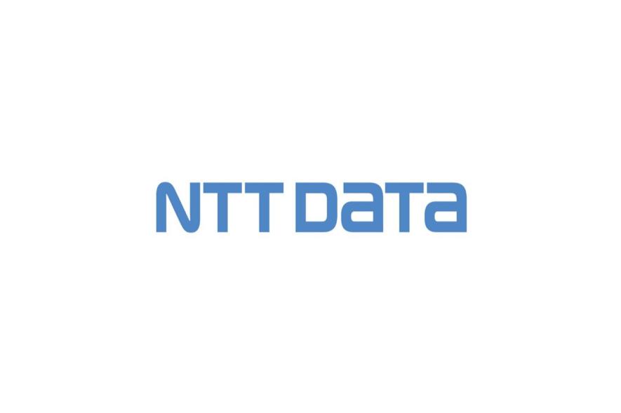 NTTデータのロゴ