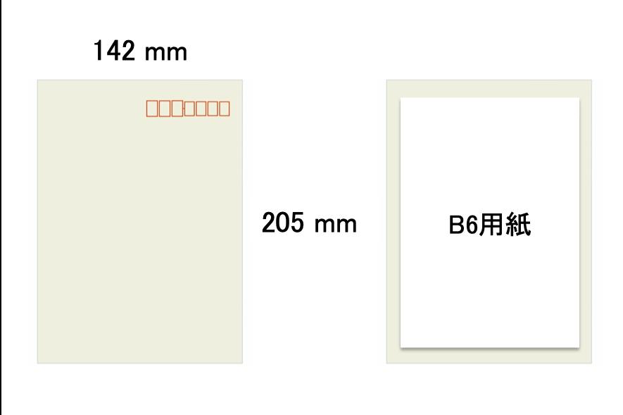 角形7号の封筒サイズ